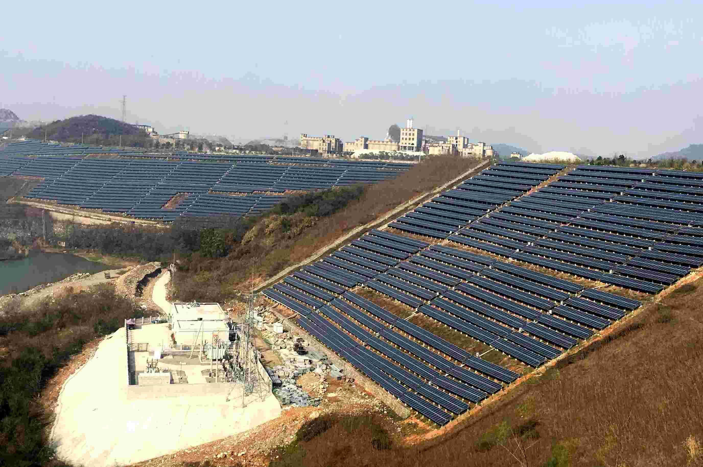 黄石铁山区50MWp并网光伏发电项目水土保持设施验收网上公示